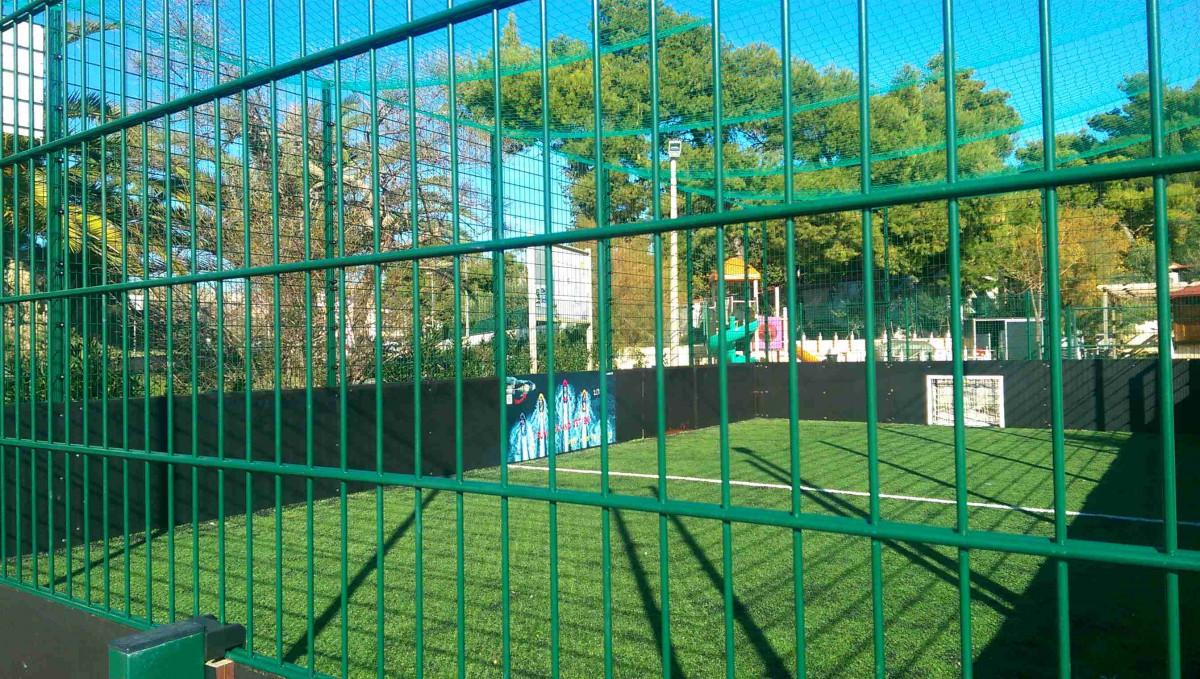 malonogometno igralište u kampu u Stobreču